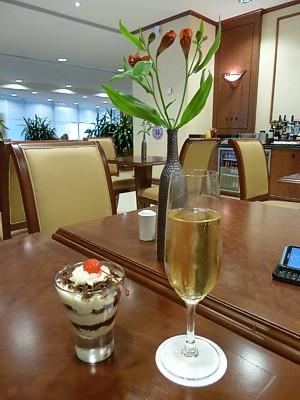 Singapore Emirates Lounge