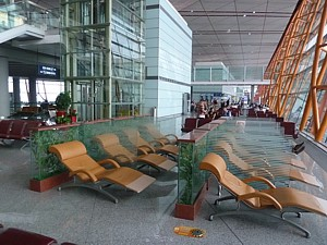 PEK Beijing Airport Guide Terminal map lounges bars
