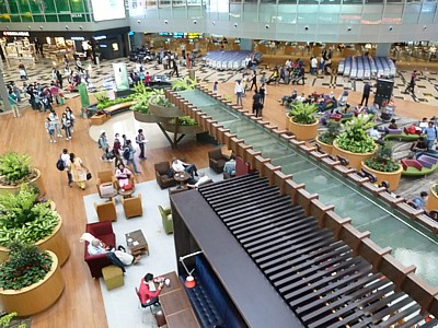 SIN: Singapore Airport Guide - Terminal map, lounges, bars ...