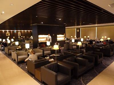 SIN: Singapore Airlines Business Class Lounge Singapore