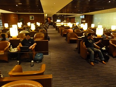SIN: Singapore Airlines KrisFlyer Gold T2 Lounge Singapore | Loungeindex