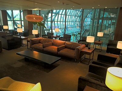 Cathay Pacific Bangkok Lounge