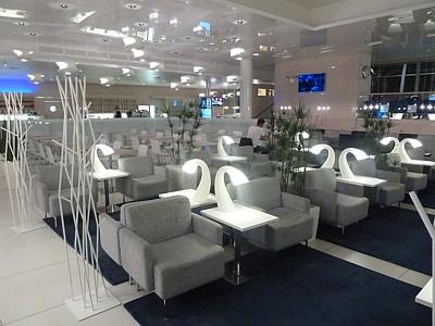 Finnair Helsinki Lounge