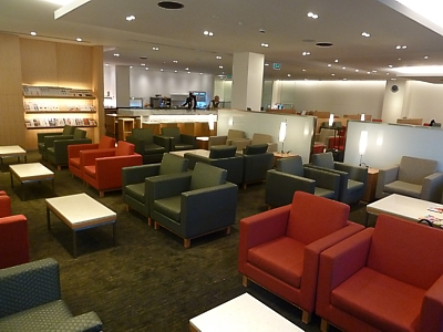 Cathay Pacific Lounge Tokyo