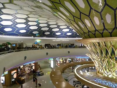 AUH Abu Dhabi Terminal Map Lounges Bars Restaurants - Bus map abu dhabi