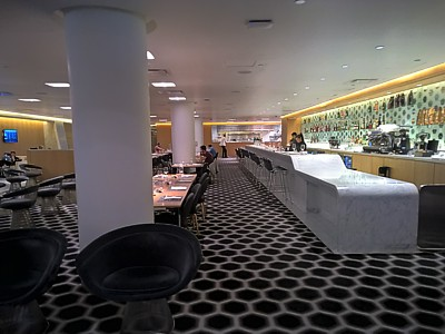 Qantas Los Angeles Lounge